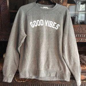 Tops - Sub_Urban Riot GOOD VIBES Sweatshirt